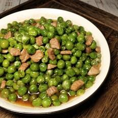 青豌豆烧肉