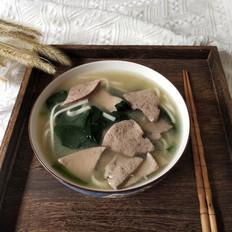 补血又营养——猪肝菠菜面