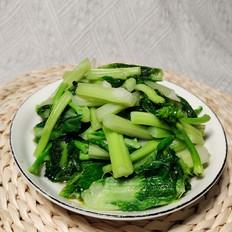 清炒白菜苔