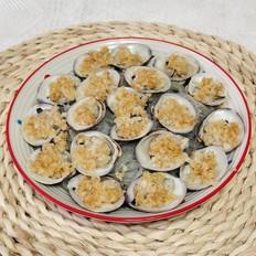蒜蓉粉丝蒸白蛤的做法