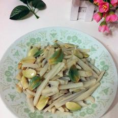 腊八蒜炒藕