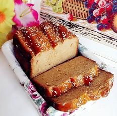 全麦红糖芝麻面包