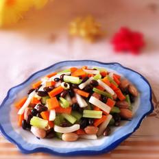 黑豆拌杂蔬