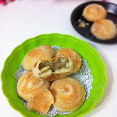 绿豆酥皮饼