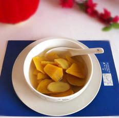 红薯姜片汤