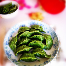 虾皮鸡蛋翡翠饺子