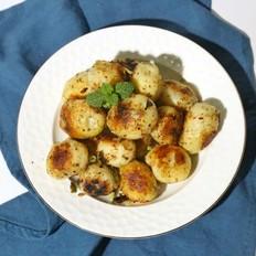 香煎小土豆#发现粗食之美#的做法