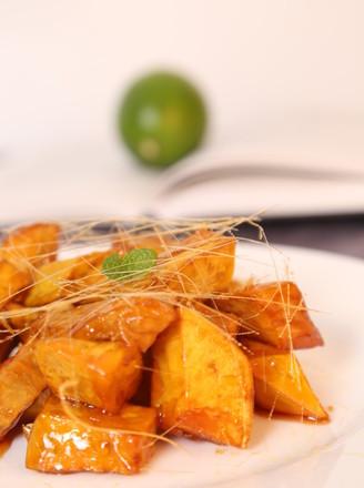 拔丝红薯 成功率翻倍的所有实用tips的做法