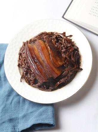 干豇豆扣肉的做法