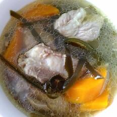 海带胡萝卜排骨汤