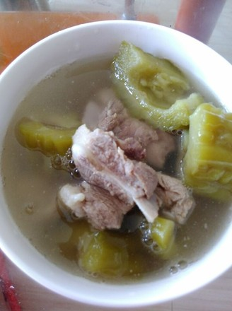 苦瓜排骨汤的做法