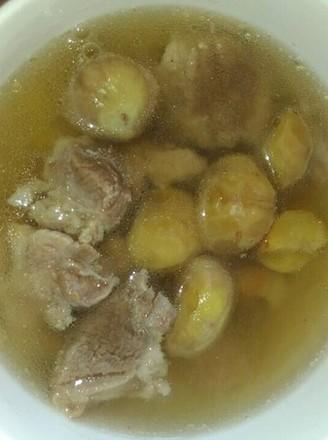 粟子煲猪肉汤的做法