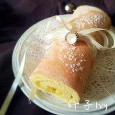 苹果蛋糕卷