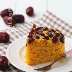 健康美味红枣南瓜发糕