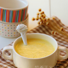 香甜奶香玉米汁