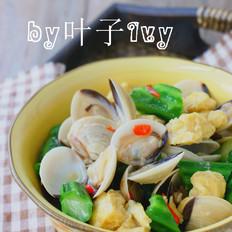 白贝烩丝瓜豆泡