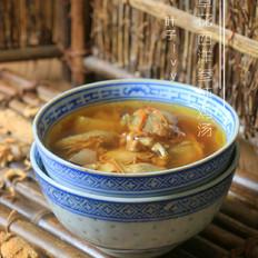 虫草花西洋参炖鸡汤