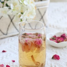 陈皮玫瑰花茶