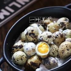 非常入味的盐焗鹌鹑蛋