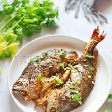 椒盐烤黄花鱼的做法