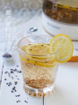 薰衣草柠檬茶的做法