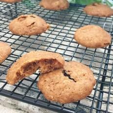 燕麦葡萄甜饼的做法