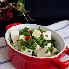 格琳诺尔香椿拌豆腐