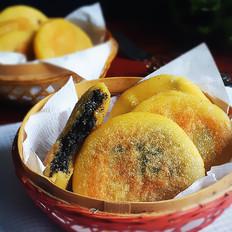黑芝麻玉米饼