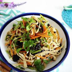 橄榄菜拌豆皮