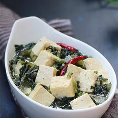 雪菜烧豆腐