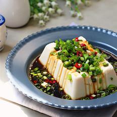 浇汁嫩豆腐