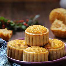 广式肉松芸豆月饼