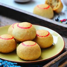 老北京自来红月饼