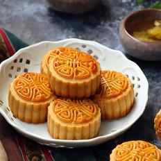 广式豆沙月饼(鹰嘴豆豆沙馅)