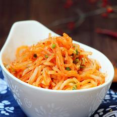 韩式辣拌萝卜丝