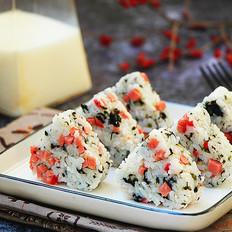 海苔火腿饭团