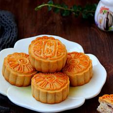 广式椰蓉蔓越莓月饼