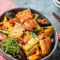 腊味香菇烧豆腐