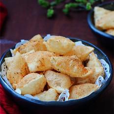 饺子皮椒盐酥