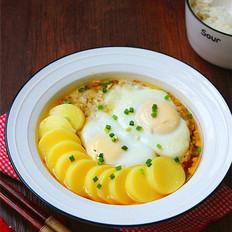 肉末豆腐蒸鸡蛋
