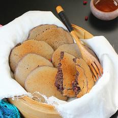红豆杂粮饼