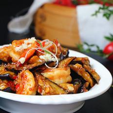 鱼香虾球茄子