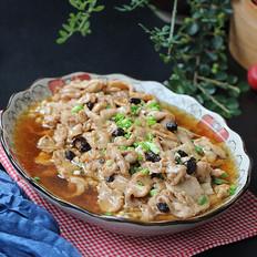 金针菇蒸肉片