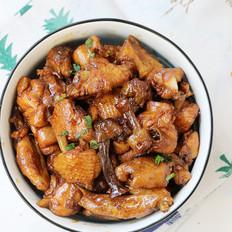 姬松茸焖鸡的做法