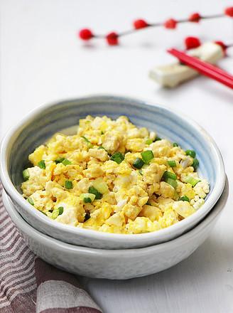 鸡刨豆腐的做法