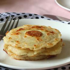 土豆鹌鹑蛋饼