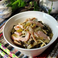 咸菜竹笋炒肉丝