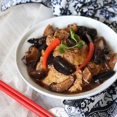 香菇木耳烧素鸡