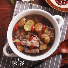 栗子炖鸡汤