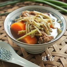 鱼腥草胡萝卜猪骨汤